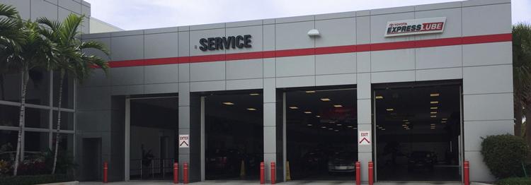 Toyota Service Delray