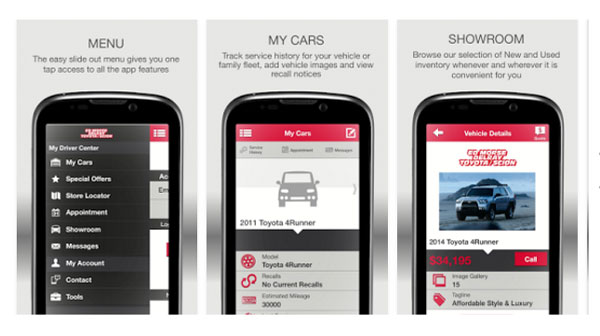 Toyota Service Appointment >> Free Delray Toyota Mobile App Service And Cars For Sale In