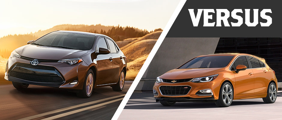 Toyota Corolla-vs- Chevrolet Cruze in Delray Beach
