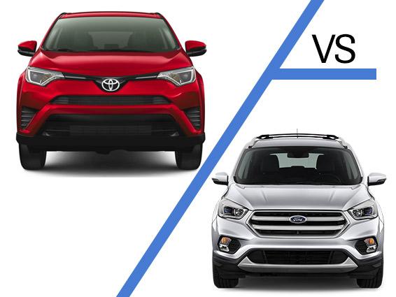 Toyota-Rav4-vs-Ford-Escape in Delray Beach