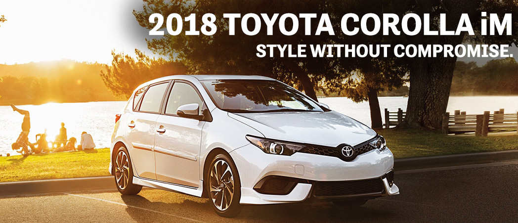 2018 Toyota-Corolla iM near Wellington